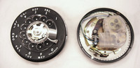 9C dial  500 set dial  Black NOS