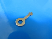 Key for wood telephones / ringer boxes Stainless steel