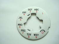 164A dial plate   for #6 and #5 dials
