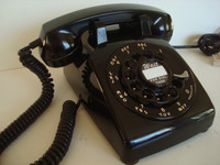 Older Western Electric telephone model 500 Fully restored