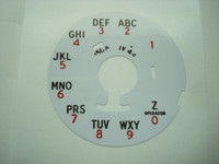 Dial plate Overlay laminate 150B