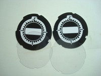 North Electric Dial Number Cards and Lucite Discs
