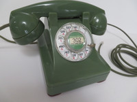 Western Electric Green 302 Telephone