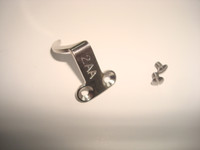 2AA finger stop with screws