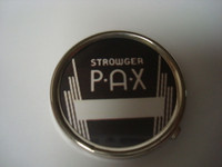 PAX telephone dial center set in Chrome