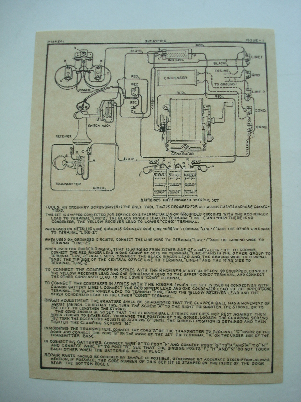 317 wood wall phone diagram glue on old phone shop store Antique Wall Phone Wiring Diagram how to rewire a vintage phone so it