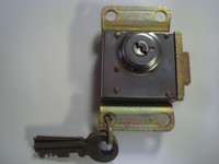 3 slot  Payphone Vault lock  NE22  Fits Western Electric AE  , NE Doors