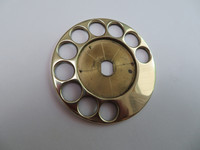 Polished Brass finger wheel for AE dials Automatic Electric dials