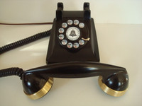 Western Electric 302 telephone  with Brass Bands