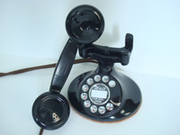 Western Electric 202  with F1 handset antique telephone