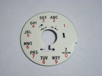 Western Electric #4 and #5 dial plate Alpha Numeric Z