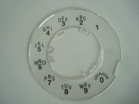 Princess  telephone Dial plate NOS