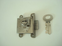 3 slot payphone upper housing lock and key 21B  Northern Electric Western Electric , AE