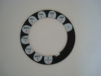 Automatic Electric Daisy  dial face plate 3 slot payphone