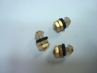 Candlestick  insulated  brass hookswitch terminals