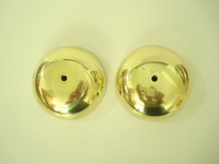 "3"" brass bells for Wooden wall phones and magnetos Western Electric"