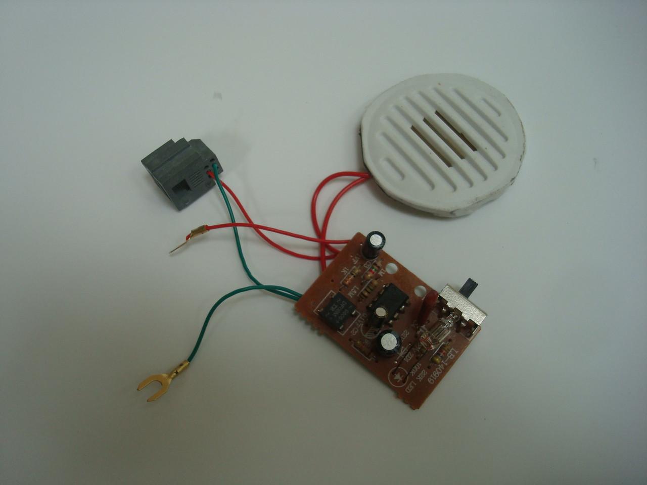 Electronic telephone ringer or mini ringer or warbler