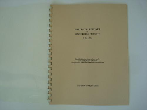 antique telephone wiring diagram book wiring telephones to ringer rh oldphoneshop com