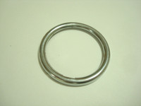 Stromberg Carlson Chrome dial number card  retainer ring for clear fingerwheels