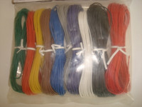 10 color solid core mounting wire package telephone and radio