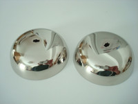 """3"""" Nickle plated brass bells Western Electric 317  and magnetos"""
