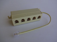 Telephone Splitter 5 lines or telephones Economy model