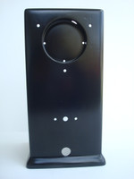 Automatric Electric 3 slot payphone upper housing Powder coated satin Black