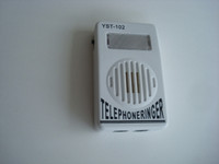 Telephone ringer strobe for hard of hearing