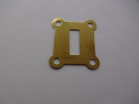 Switch hook cover Brass