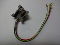 523A Wall plate jack for Western Electric wall phone plates