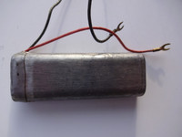 Western Electric 195C condensor 2 wire