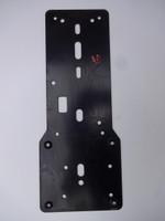 3 slot payphone back board  1A mounting plate 174A