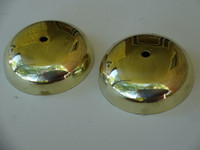 Bells  2 1/2 polished brass