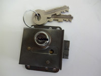 Automatic Electric 10L lock and keys for 3 slot payphone