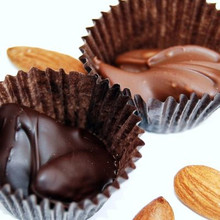 Dark and Milk Chocolate Almond Clusters