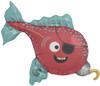 "14"" Pirate Fish Air-Fill  Mylar Foil Balloon"