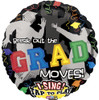 "28"" Break Out The Moves Grad Singing  Mylar Foil Balloon"