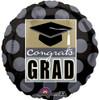 """18"""" Class Pride Grad Mylar Foil Balloon"""