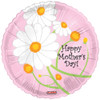 "18"" Mother's Day Trendy Flowers Mylar Foil Balloon"
