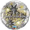 "18"" Congratulations Elegant Mylar Foil Balloon"