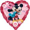 """32"""" Mickey & Minnie Jumbo Mylar Foil Balloon"""