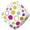 "18"" Polka Dot Accent Mylar Foil Balloon"