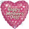 "18"" Precious Petals Mother's Day Mylar Foil Balloon"