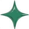"20"" Emerald Green Starpoint Mylar Foil Balloon"