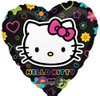 "17"" Hello Kitty Tween Heart Mylar Foil Balloon"