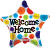 "18"" Welcome Home Star Mylar Foil Balloon"