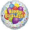 "36""  Bunch Birthday Jumbo Mylar Foil Balloon"