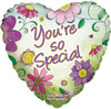 "18"" You're So Special Flowers Mylar Foil Balloon"