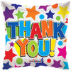 "18"" Thank You Square Mylar Foil Balloon"