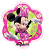 "18"" Minnie Flower Junior Shape Mylar Foil Balloon"